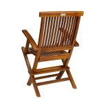 Teak Folding Chairs For Sale Teak Wood Folding Chair With Arms