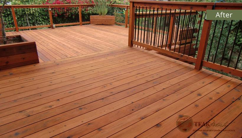 Redwood Deck Restoration
