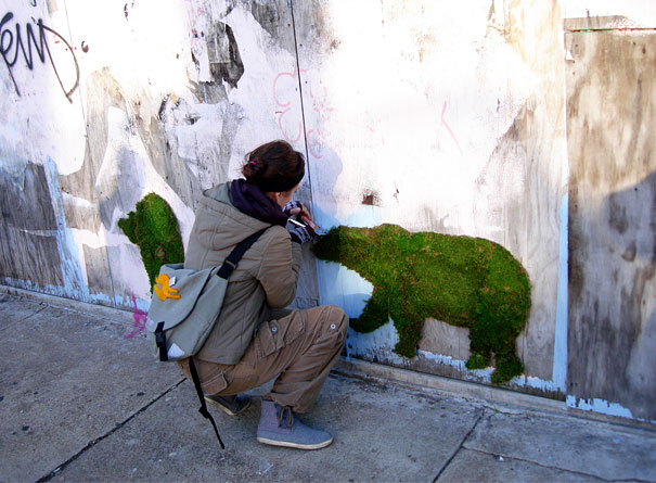 Moss Grafiti. Bear