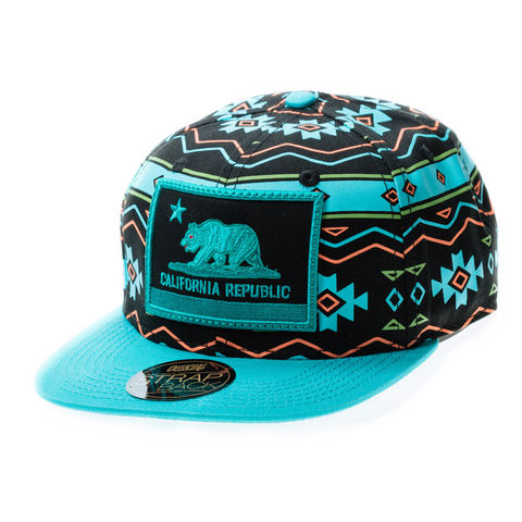 official. teal hat
