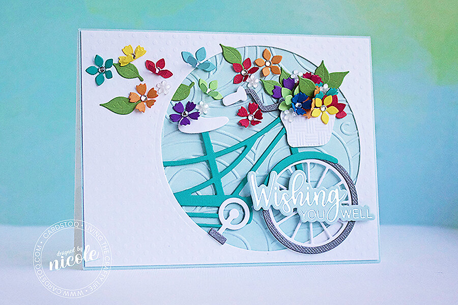 Inspiration: Spellbinders Large Die of the Month