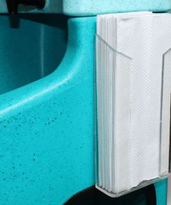Paper towel holder for Teal WashStand portable hand wash unit