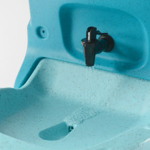 Handeman Xtra mobile sink mains powered 4