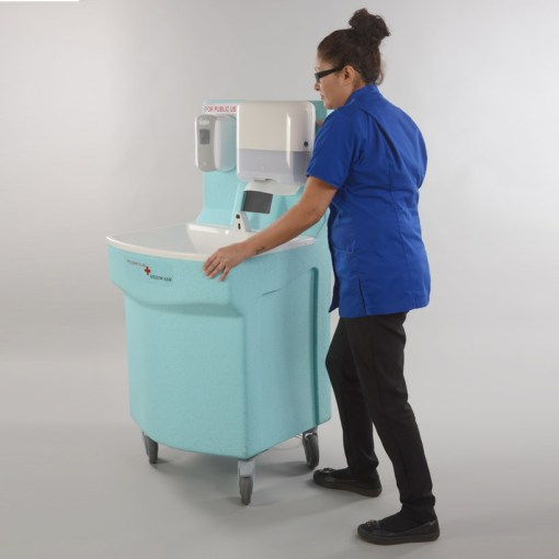 MediWash portable hand washing for hospitals 3