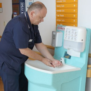 MediWash portable hand washing for hospitals 5