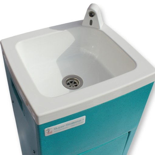 The bowl of the Super Stallette hand wash unit
