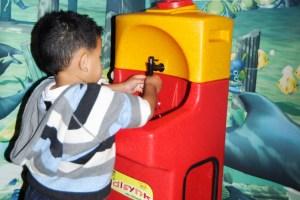 Teaching children handwashing prevents disease