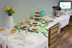 Cakes galore at Macmillan Coffee Morning in Coleshill in Warwickshire
