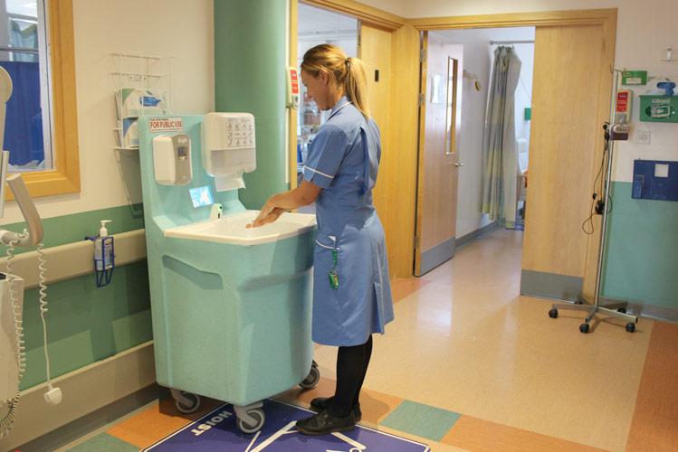 Combat norovirus with effective hand washing