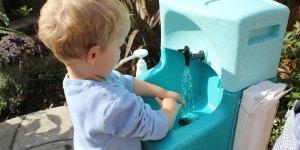 Portable-sinks-for-preschool-children-at-Nursery World NORTH