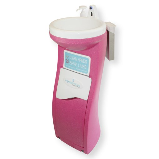 Portable hand wash units for beauty businesses
