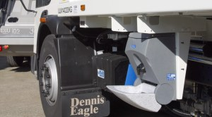 Hand washing sinks for commercial vehicle drivers