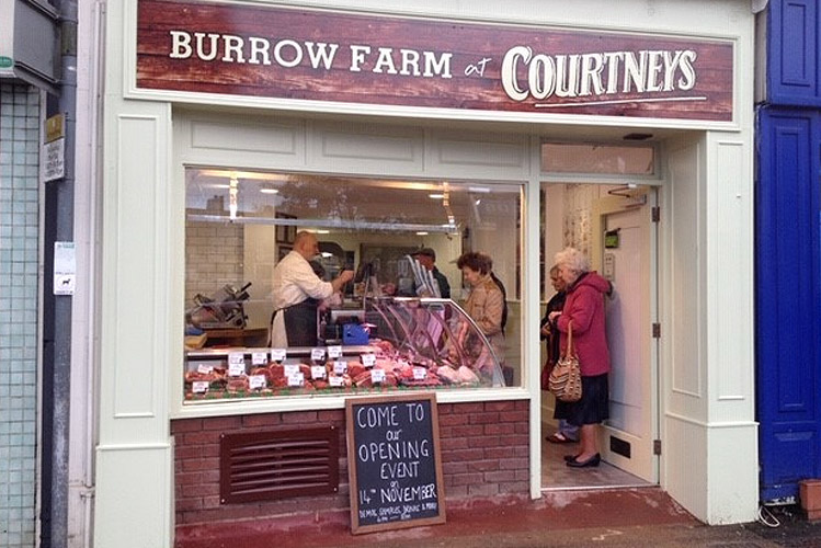 Burrow Farm Shop in Exeter