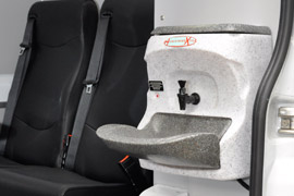 Motor vehicle hand wash units by Teal