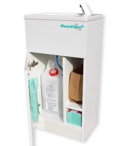 The HandSpa needs no plumbing just a power socket