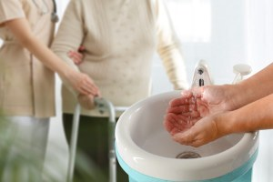 Hand washing is essential says guidance as care home takes action against norovirus