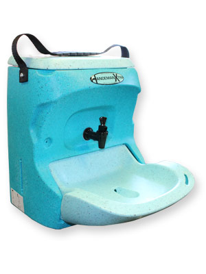 HandeMan Xtra portable handwashing unit for mobile caterers