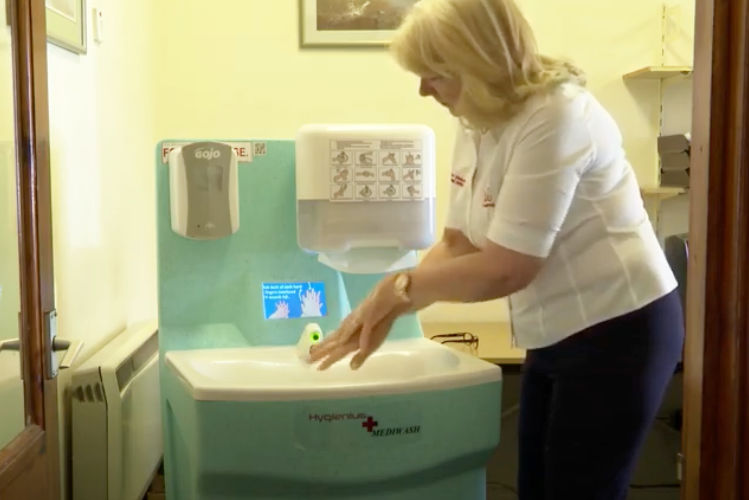 How Teal kept production of portable sinks going during lockdown