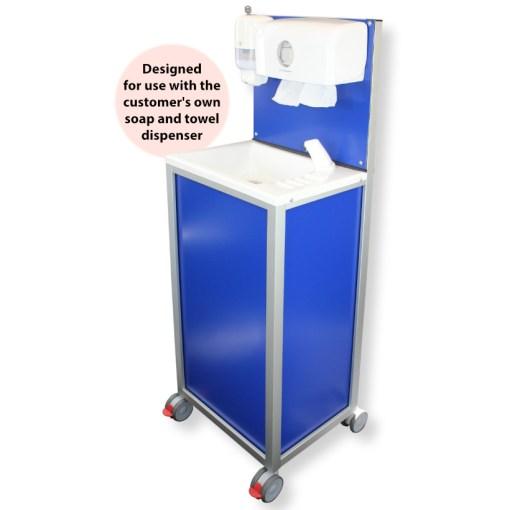CliniWash mobile handwash unit from Teal