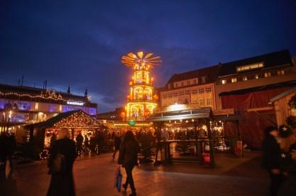 Weihnachtspyramide Fulda 2015