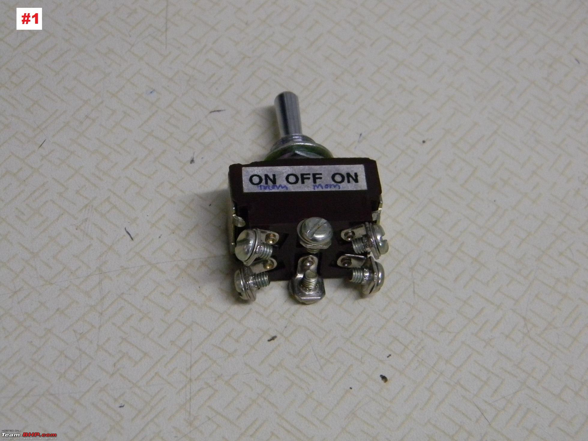 Toggle Switch Remote Control