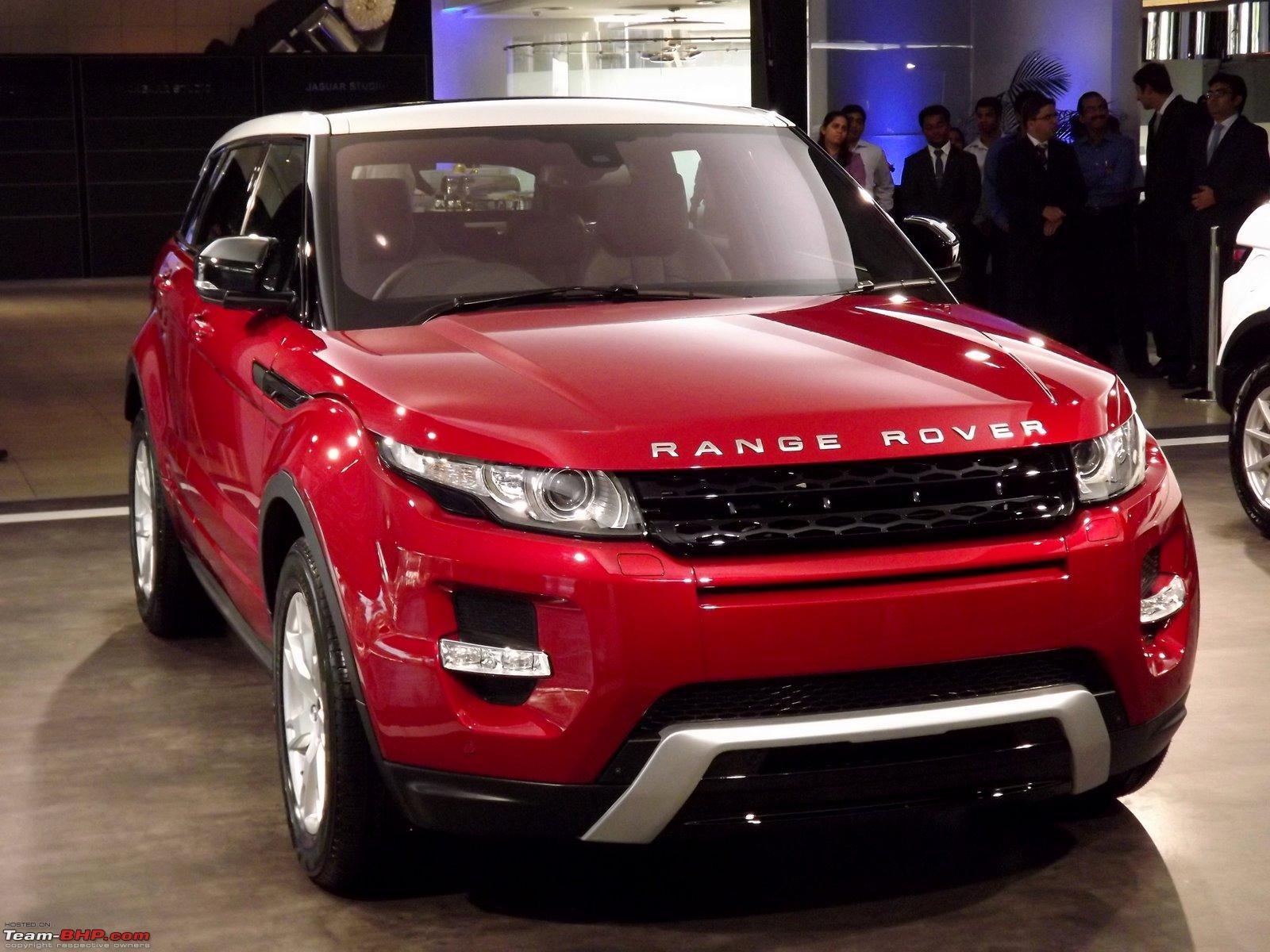 Range Rover Evoque launched in India Team BHP