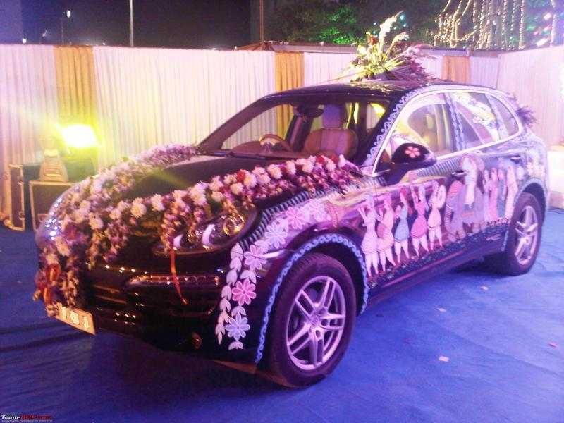 Wedding Car Decoration Images Hd