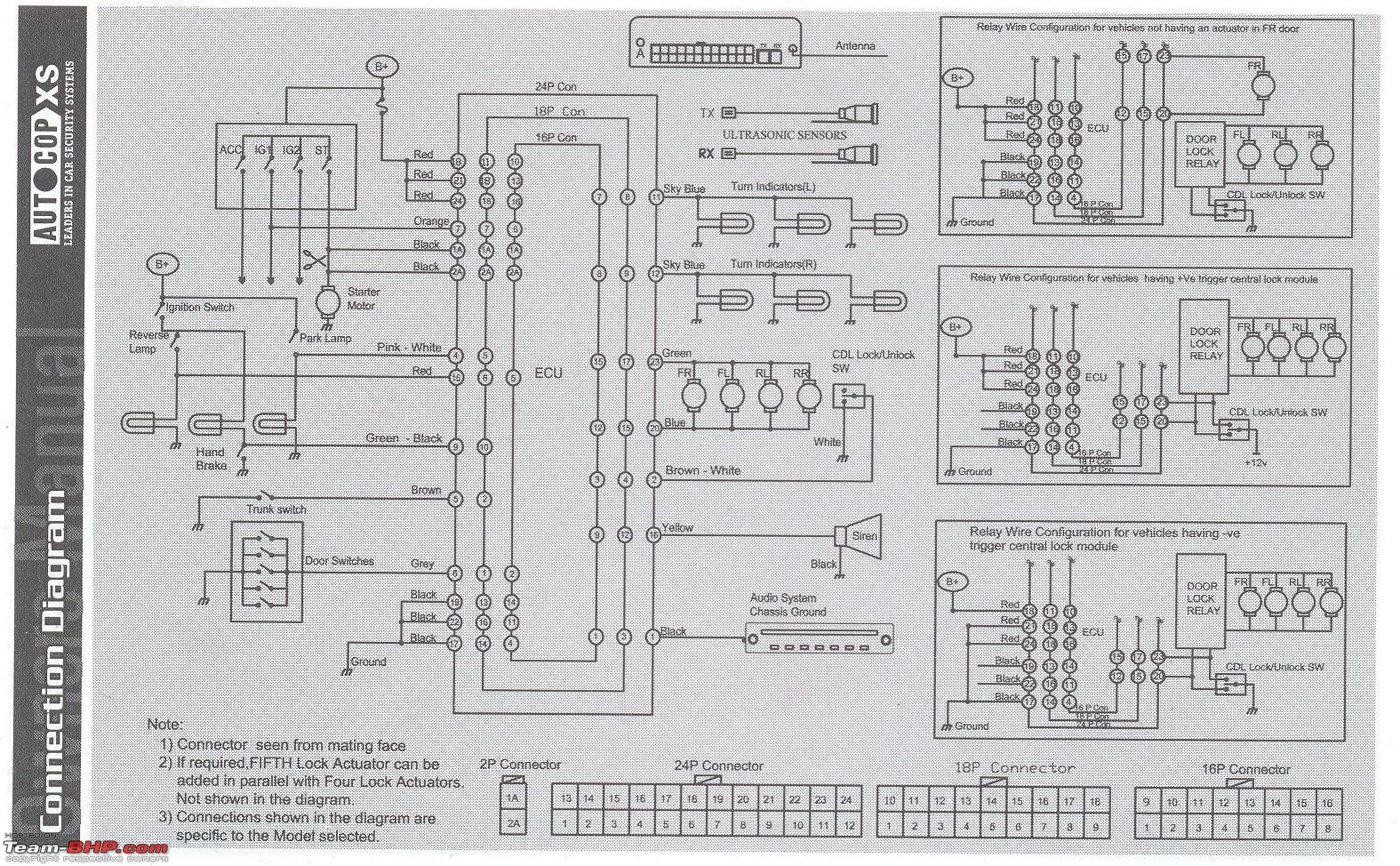 Minda Central Locking Wiring Diagram