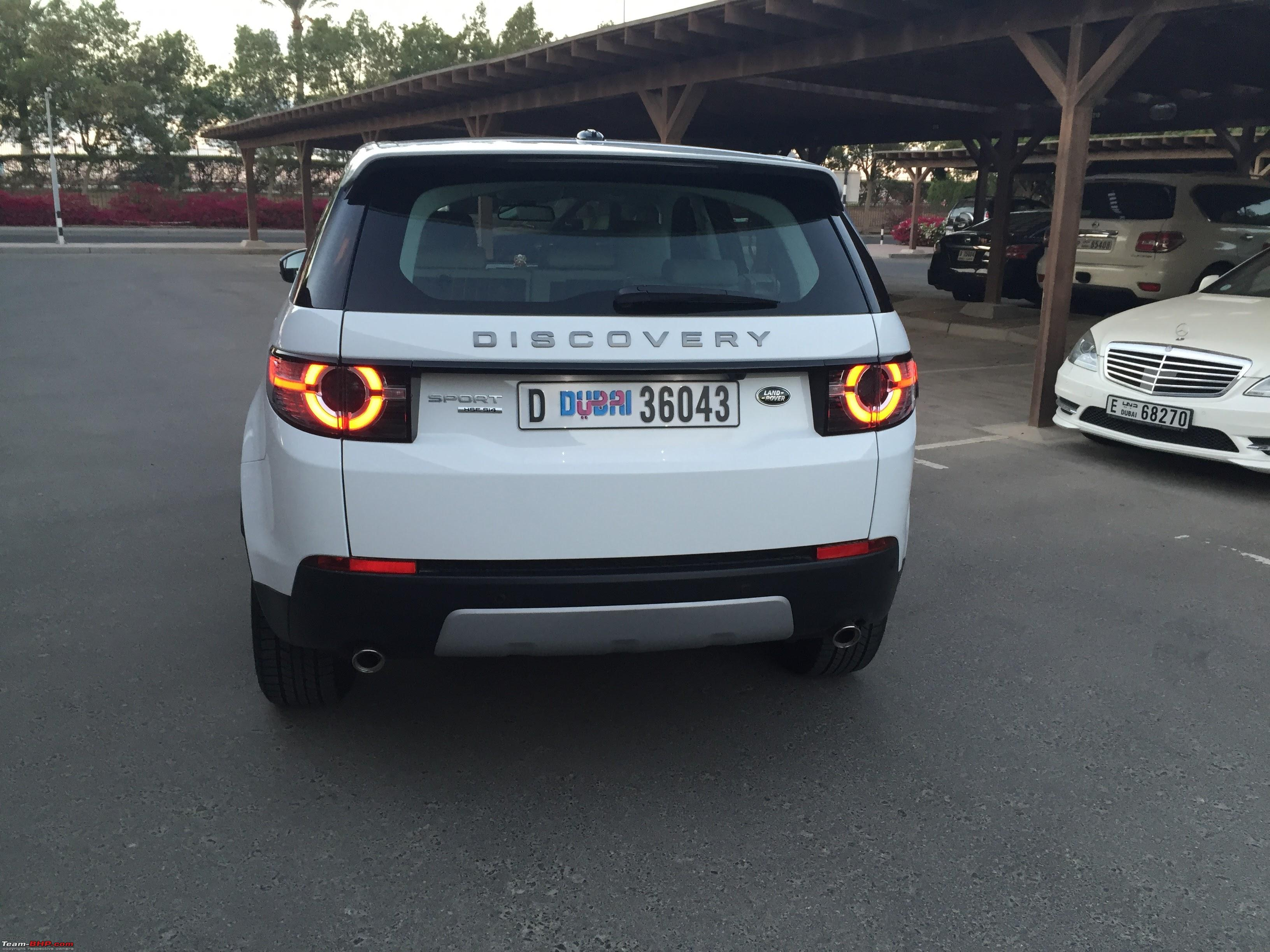 Life with a Land Rover Discovery Sport Team BHP
