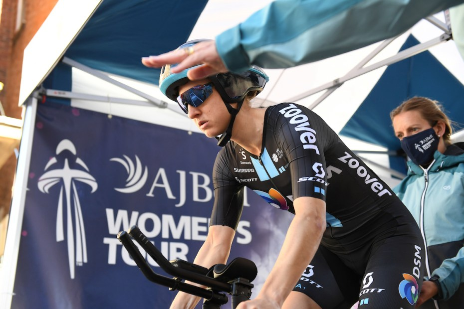 Leah Kirchmann races to third on Stage 3 Time Trial