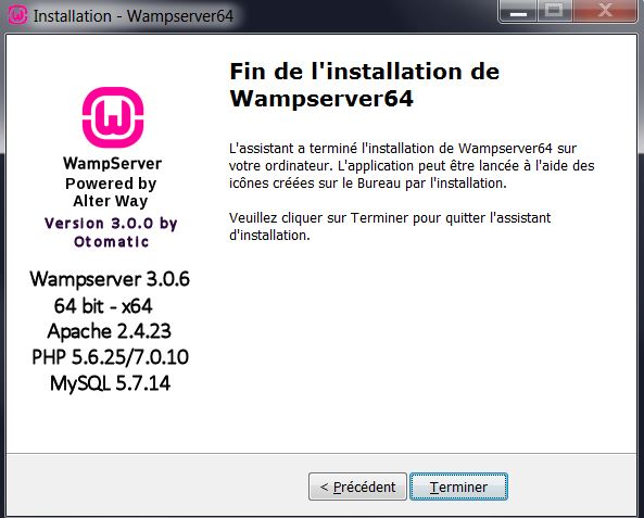 GRATUIT BITS TÉLÉCHARGER WINDOWS 64 WAMPSERVER 8.1