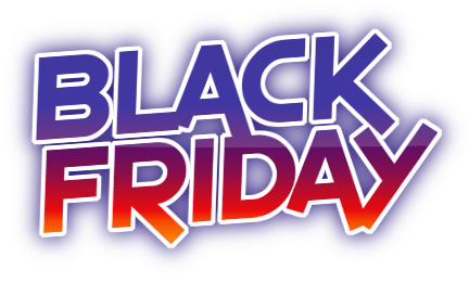 Logo promotion black friday