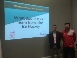 Team-i, Team development, what business can learn from sport, Tim Thurston, Aaron Nell, Swindon Wildcats