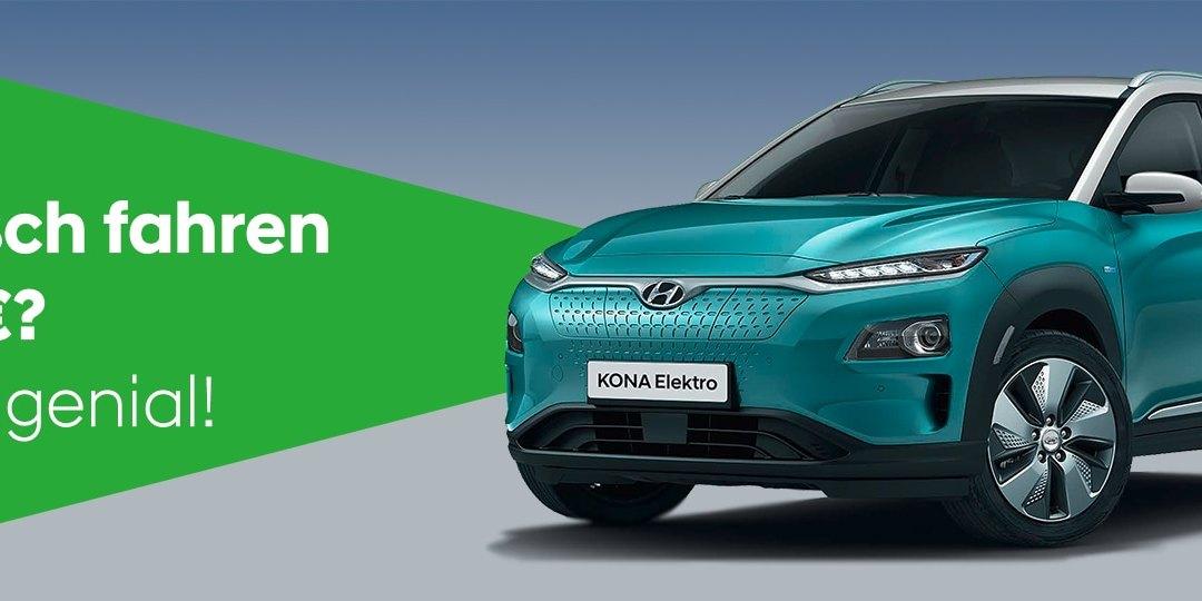 Kona Elektro – Leasing für 99 EUR/Monat