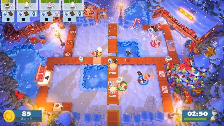 Image result for overcooked 2 seasonal content how many levels