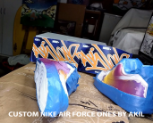 custom hand-painted shoes.