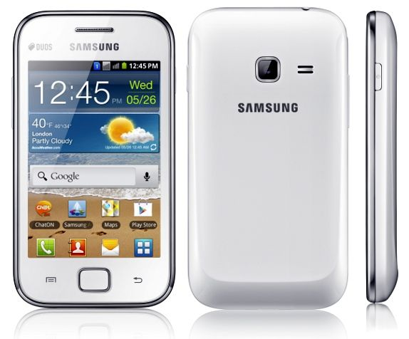 Samsung Galaxy Ace Duos S6802 - DXMA1 Android 2.3.6
