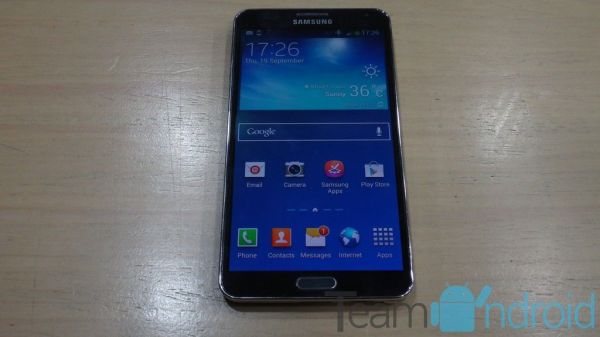 Samsung Galaxy Note 3 LTE SM-N9005 - TWRP 2.6 Touch Recovery