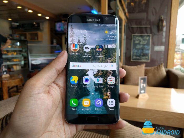Samsung Galaxy S7 Edge - 7.1.2 Nougat Decent ROM ROM