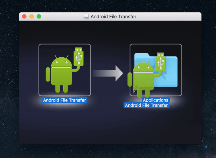 Android File Transfer - Installation