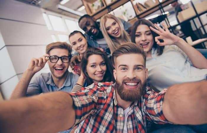 Selfie von Bewerber eines Assessment Centers