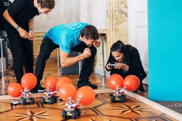 Mario-Kart bei Teambuilding von teamazing