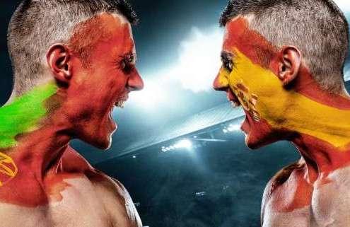 Spain Vs. Portugal teamazing Erlebnisbuilding