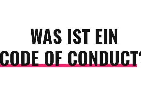 Was ist ein Code of Conduct?