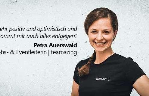 Neue Mitarbeiterin Petra Auerswald