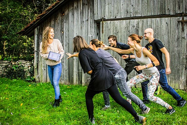 Teambuilding mit Pulsuhren - Beat The Heart