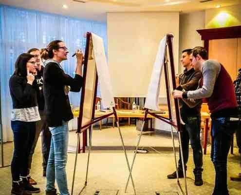 Teambuilding mit Workshop in Stuttgart