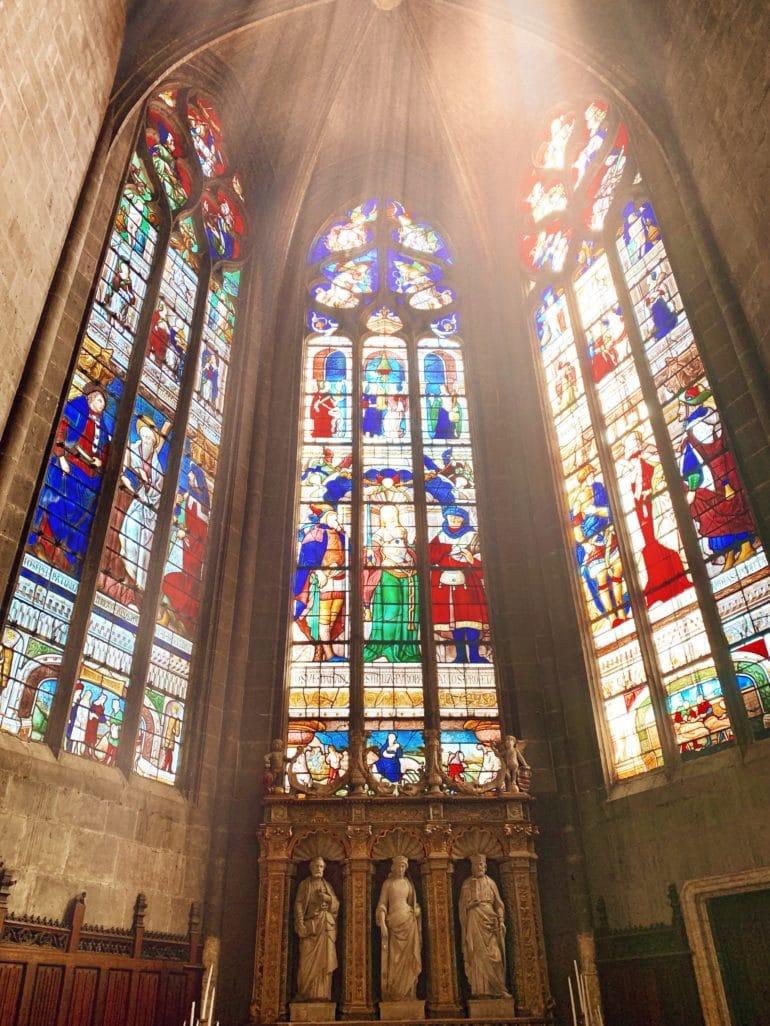 Vitraux église auch
