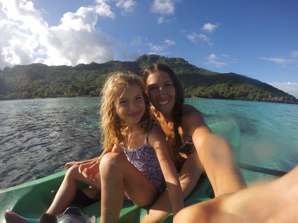 Canoe Moorea