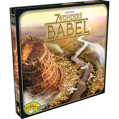 7 Wonders Babel - Cover 1
